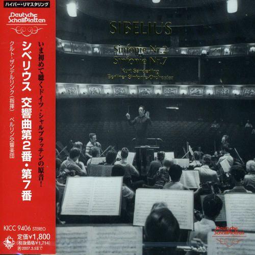 Sibelius: Symphonies Nos. 2 & 7 [Remastered] [Japan]