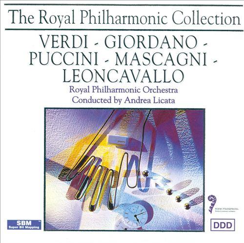 Verdi, Giordano, Puccini, Mascagni, Leoncavallo