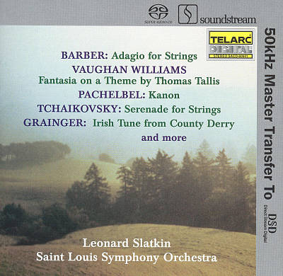 Barber, Vaughan Williams, Pachelbel, Tchaikovsky, Grainger