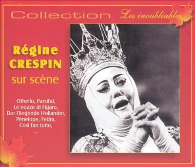 Régine Crespin sur scène