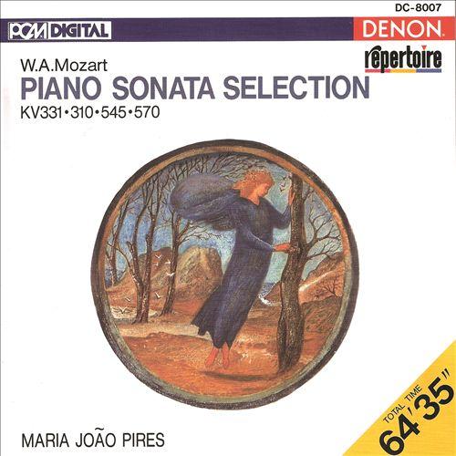 Mozart: Piano Sonata Selection