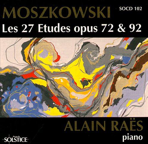 Moszkowski: Etudes, op. 72 & 92