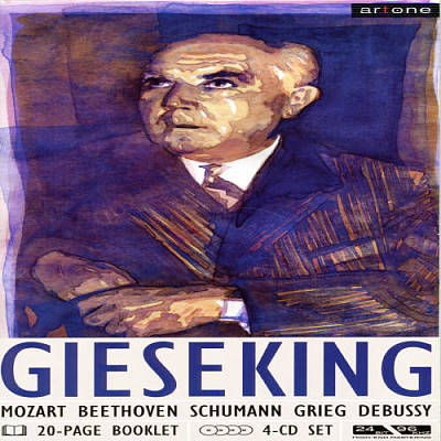 Gieseking performs Mozart, Beethoven, Schumann and more (box) [Germany]