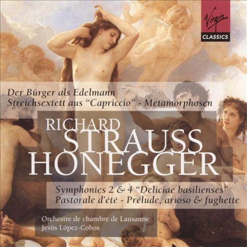 Richard Strauss: Der Bürger als Edelmann; Streichsextett aus Capriccio; Metamorphosen