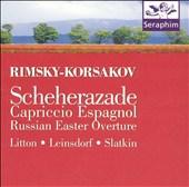 Rimsky-Korsakov: Scheherazade; Capriccio Espagnol; Russian Easter Overture