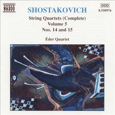 Shostakovich: String Quartets (Complete), Vol. 5