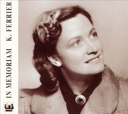 In Memoriam Kathleen Ferrier (1912-1953)