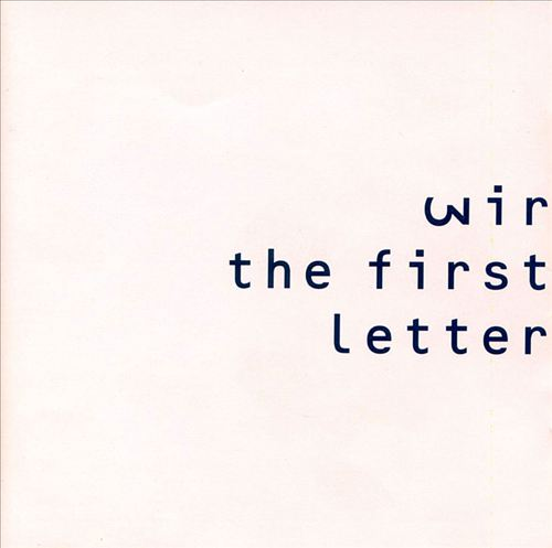 The First Letter