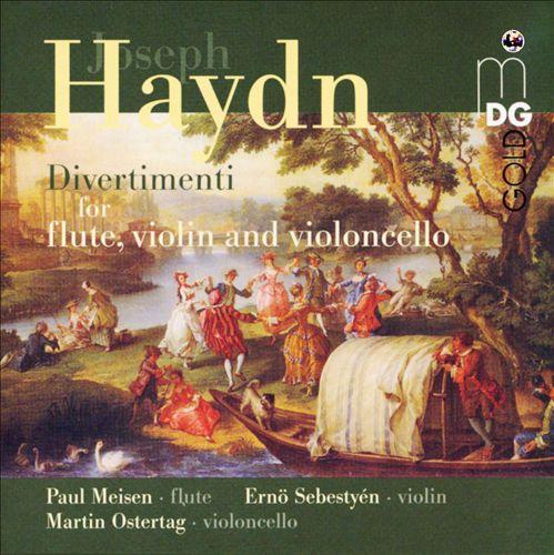 Haydn: Divertimenti for flute, violin and violoncello