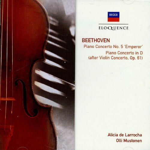 Beethoven: Piano Concerto No.5, Concerto In D Major For Piano & Orchestra [Australia]