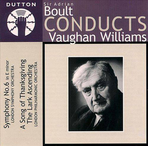 Boult Conducts Vaughan Williams
