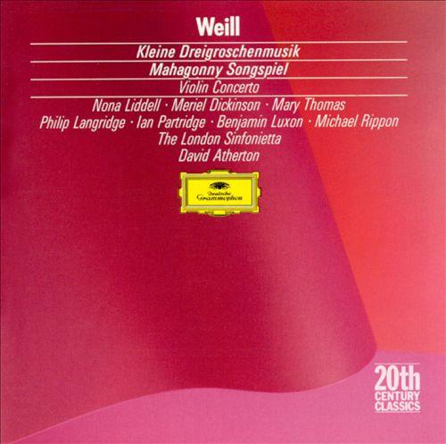 Weill: Kleine Dreigroschenmusik