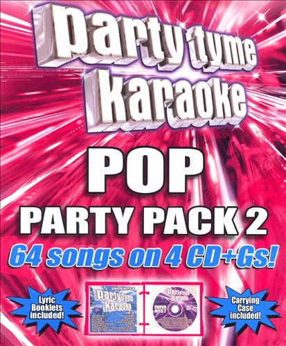 Party Tyme Karaoke: Pop Party Pack, Vol. 2