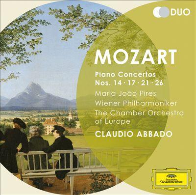 Mozart: Piano Concertos Nos. 14, 17, 21 & 26