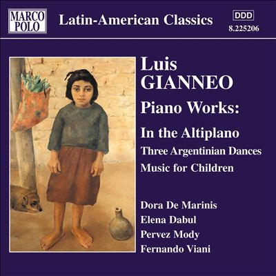 Luis Gianneo: Piano Works, Vol. 2