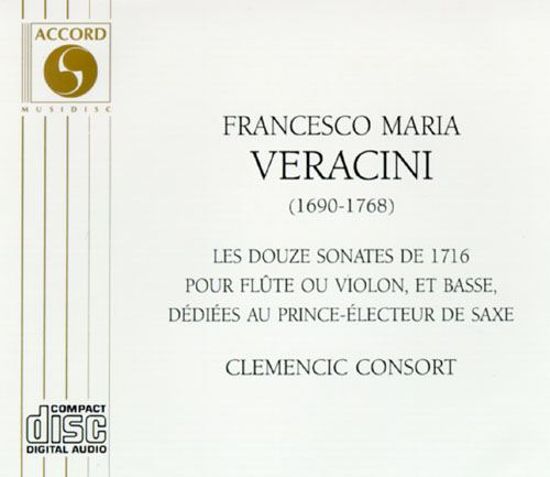 12 Sonatas of 1716 for Flute or Violin