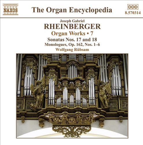 Joseph Gabriel Rheinberger: Organ Works, Vol. 7