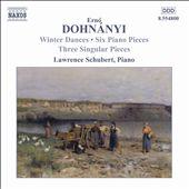 Dohnányi: Piano Works, Vol. 2
