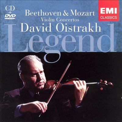 Legend: David Oistrakh [CD & DVD]