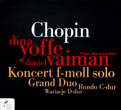 Chopin: Konzert f-moll solo; Grand duo