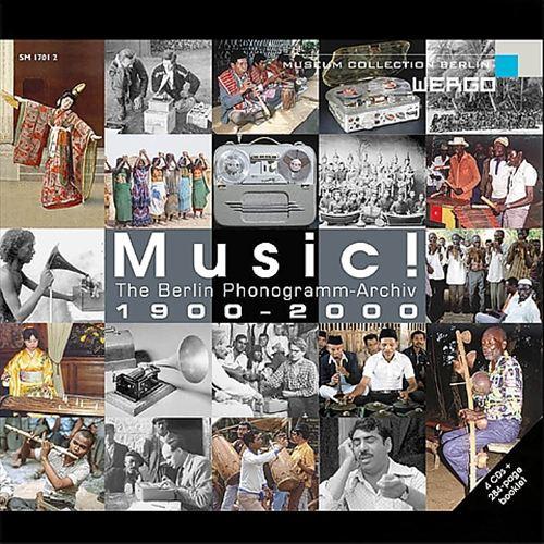 Music Berlin Phonogramm-Archive 1900-2000 [Box Set]
