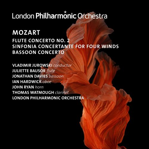 Mozart: Flute Concerto No. 2; Sinfonia Concertante for Four Winds; Bassoon Concerto