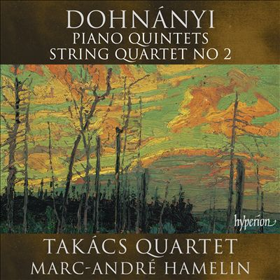 Dohnányi: Piano Quintets; String Quartet No. 2