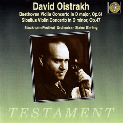 Beethoven/Sibelius: Violin Concertos