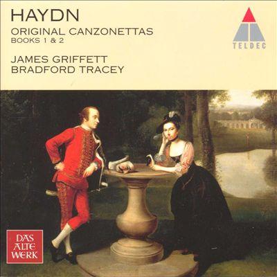 Haydn: Original Canzonettas Books 1 & 2