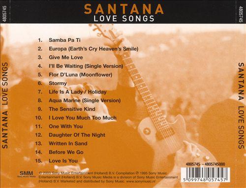 Love Songs [Sony International]