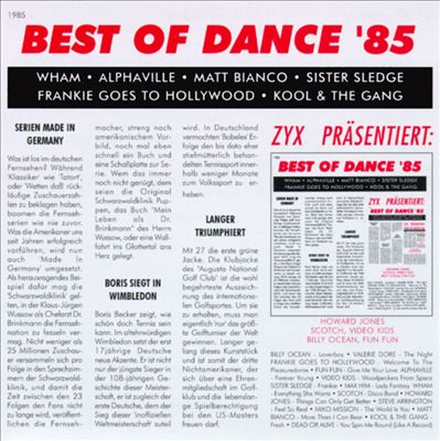 Best of Dance 1985