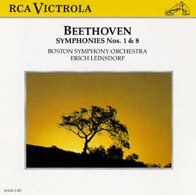 Beethoven: Symphonies Nos. 1 & 8