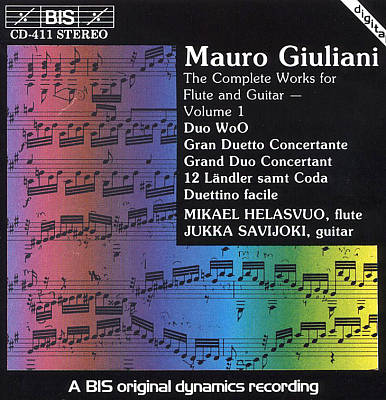 Giuliani: Compete Works for Flute & Guitar Vol.1
