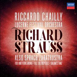 Richard Strauss: Also Sprach Zarathustra; Tod Und Verklärung; Till Eulenspiegel; Salome's Dance