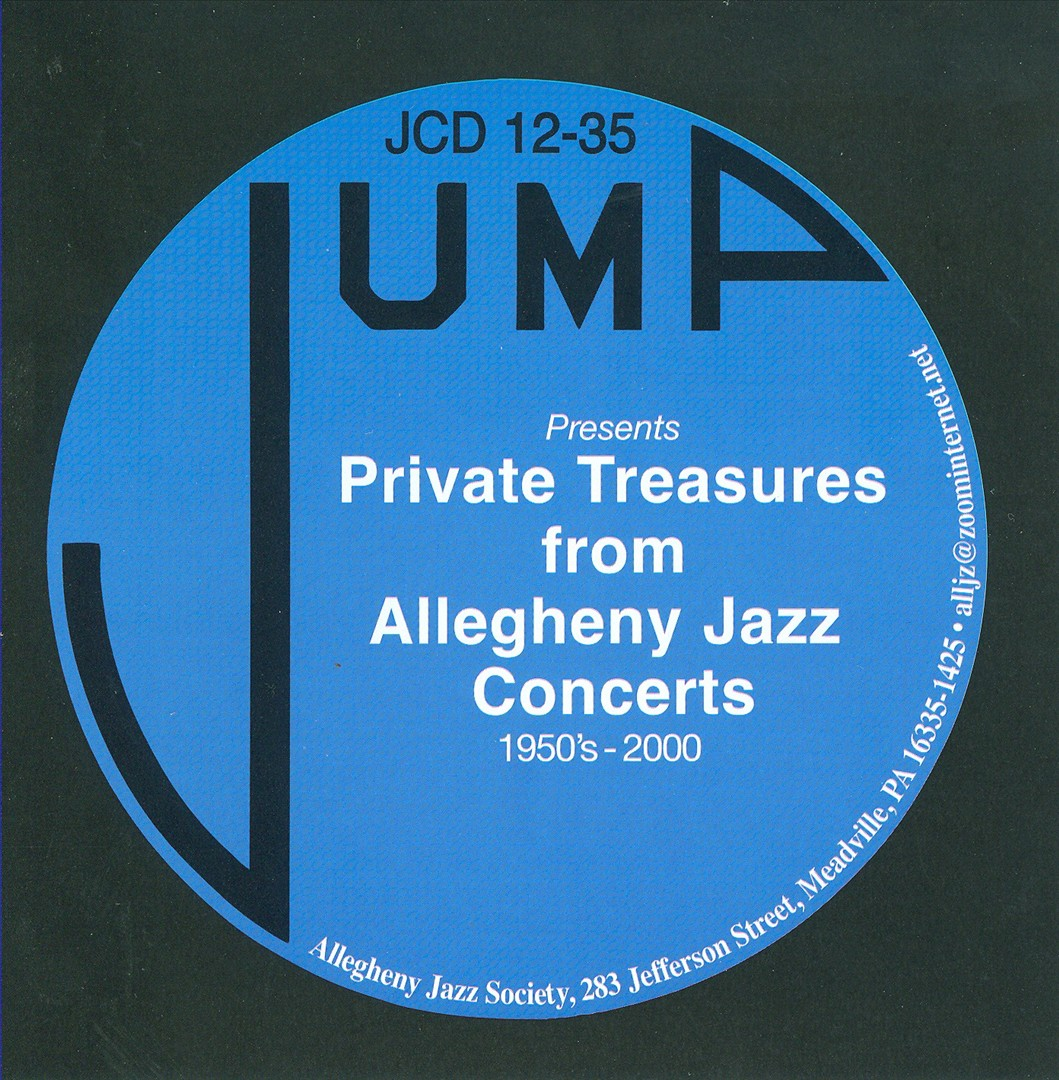 Private Treasures From Allegheny Jazz Concerts 1950's-2000
