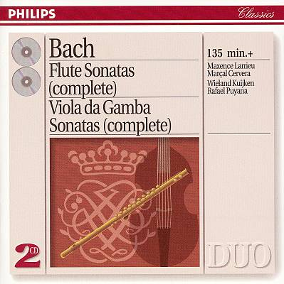 Bach: Complete Flute Sonatas; Complete Viola da Gamba Sonatas