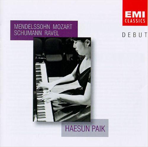 Mendelssohn; Mozart; Schumann; Ravel