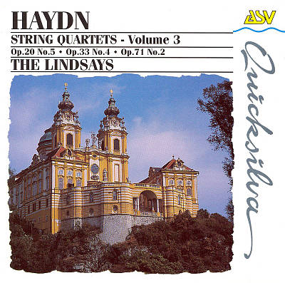 Haydn: String Quartets, Vol.3