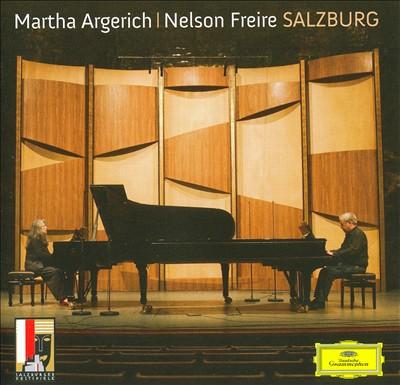 Martha Argerich & Nelson Freire in Salzburg