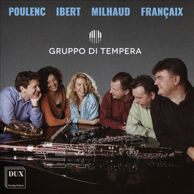 Poulenc, Ibert, Milhaud, Françaix