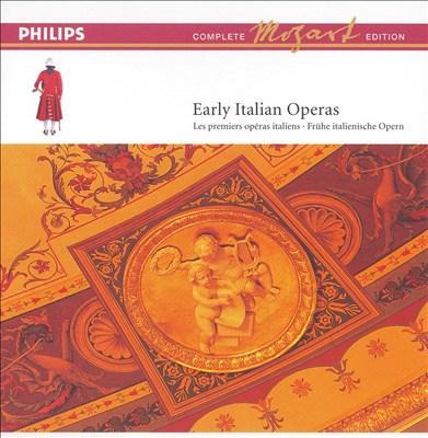 Mozart: Early Italian Operas