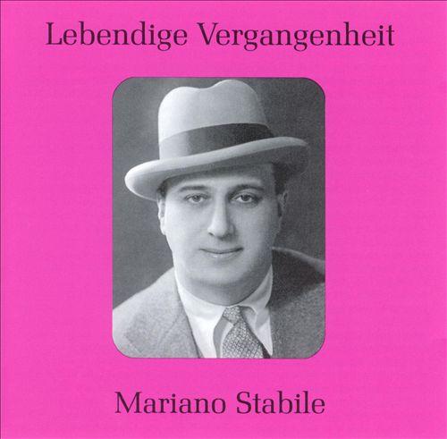 Lebendige Vergangenheit: Mariano Stabile