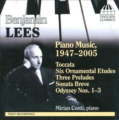 Benjamin Lees: Piano Music 1947-2005