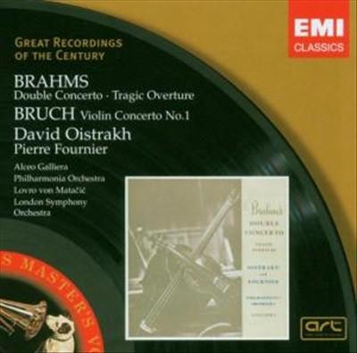 Brahms: Double Concerto; Tragic Overture; Bruch: Violin Concerto No. 1