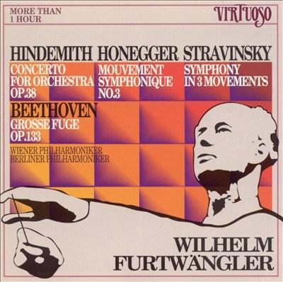 Furtwängler Conducts Hindemith, Honegger, Stravinsky