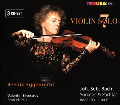 Violin Solo 7: J. S. Bach, Valentin Silvestrov