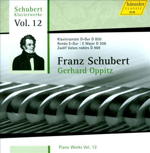 Schubert: Piano Works, Vol. 12