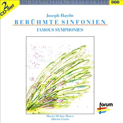 Haydn: Berühmte Sinfonien