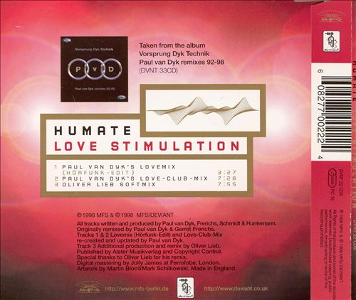 Love Stimulation [The Radio Slave Remixes]