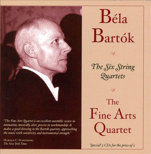 Béla Bartók: The Six String Quartets